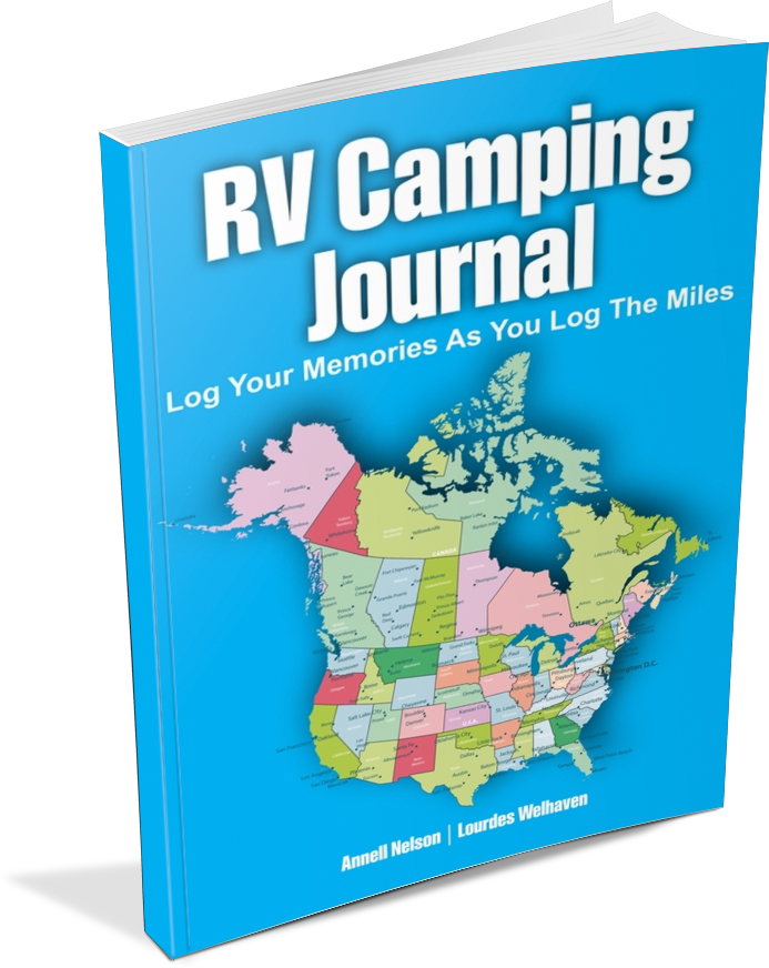 RV Camping Journal - Log Your Memories as You Log the Miles