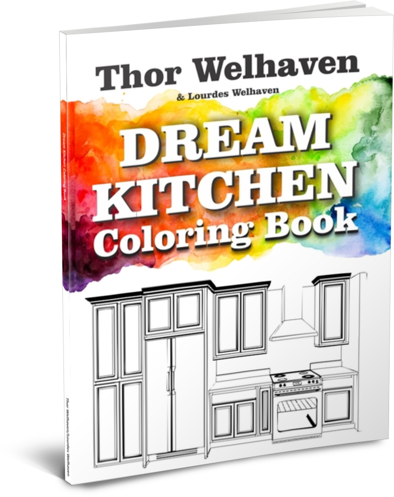 Dream Kitchen Coloring Book by Thor Welhaven and Lourdes Welhaven